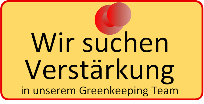 Greenkeeping Stellensuche
